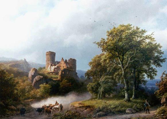Dutch Painter Barend Cornelis Koekkoek